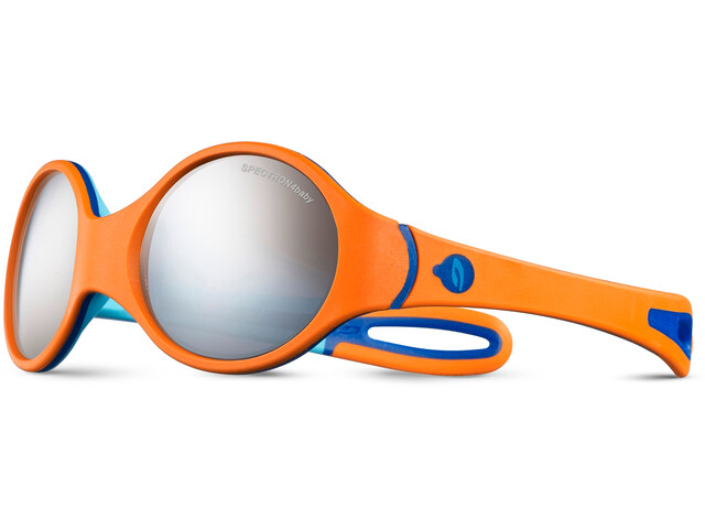 Julbo Loop Spectron 4 Sonnenbrille 2-4Y Kinder orange/sky blue/blue-gray flash silver
